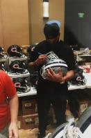 Dak Prescott Signed Cowboys Full-Size Authentic On-Field Speed Helmet (Beckett Hologram & Denver Autographs COA) at PristineAuction.com