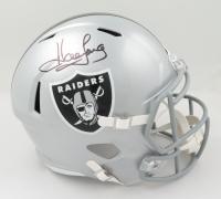 Howie Long Signed Raiders Full-Size Speed Helmet (Beckett COA & Denver Autographs COA) at PristineAuction.com