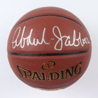 Kareem Abdul-Jabbar Signed NBA Basketball (Schwartz Sports COA) at PristineAuction.com