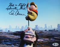 """Ed Asner Signed """"Up"""" 8x10 Photo Inscribed """"Keep A Tight Sphincter, Kid!"""" (Beckett COA) at PristineAuction.com"""