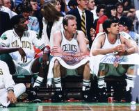 Larry Bird, Robert Parish, & Kevin McHale Signed Celtics 16x20 Photo (Schwartz Sports COA & Bird Hologram) at PristineAuction.com