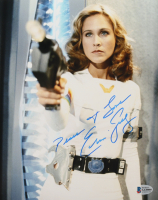 """Erin Gray Signed """"Buck Rogers in the 25th Century"""" 8x10 Photo Inscribed """"Peace + Love"""" (Beckett COA) at PristineAuction.com"""