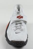 "Barry Sanders Signed Oklahoma State Cowboys Nike Shoe Inscribed ""Heisman 88"" (Schwartz Sports Hologram) at PristineAuction.com"
