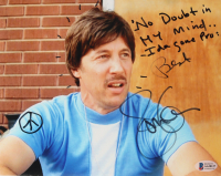 """Jon Gries Signed """"Napoleon Dynamite"""" 8x10 Photo Inscribed """"No Doubt in My Mind Ida Gone Pro"""" & """"Best"""" (Beckett COA) at PristineAuction.com"""