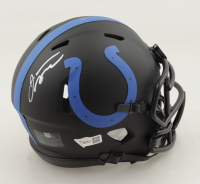 Jonathan Taylor Signed Colts Eclipse Alternate Speed Mini Helmet (Fanatics Hologram) at PristineAuction.com