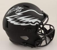 Miles Sanders Signed Eagles Full-Size Eclipse Alternate Speed Helmet (JSA COA & Denver Autographs COA) (See Description) at PristineAuction.com