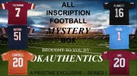OKAUTHENTICS NFL All Inscription Jersey Mystery Box - Series I at PristineAuction.com