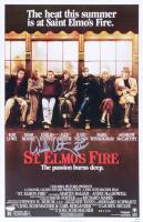 "Emilio Estevez & Judd Nelson Signed ""St. Elmo's Fire"" 11x17 Photo (Schwartz COA) at PristineAuction.com"