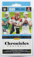 2020-2021 Panini Chronicles Football Hanger Box with (30) Cards at PristineAuction.com