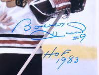 "Bobby Hull Signed Blackhawks 11x14 Photo Inscribed ""HOF 1983"" (Schwartz COA) at PristineAuction.com"