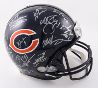 1985 Bears Full-Size Authentic On-Field Super Bowl XX Logo Helmet Team-Signed by (28) with Mike Ditka, Mike Singletary, Dan Hampton, Jim McMahon (Schwartz Sports COA) at PristineAuction.com