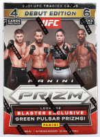 2021 Panini Prizm UFC Blaster Box with (6) Packs at PristineAuction.com