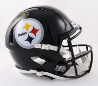 Hines Ward Signed Steelers Full-Size Speed Helmet (Schwartz Sports COA) at PristineAuction.com