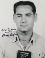 "Robert Schibline Signed 8x10 Photo Inscribed ""AZ-1355"" & ""Alcatraz Bad*ss"" (Beckett COA) at PristineAuction.com"
