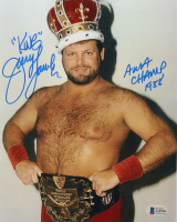 """Jerry Lawler Signed WWE 8x10 Photo Inscribed """"King"""" & """"AWA Champ 1988"""" (Beckett COA) at PristineAuction.com"""