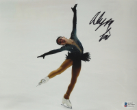 Alysa Liu Signed 8x10 Photo (Beckett COA) (See Description) at PristineAuction.com