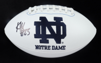 Kyren Williams Signed Notre Dame Fighting Irish Logo Football (JSA COA) at PristineAuction.com