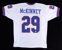 Xavier McKinney Signed Jersey (JSA COA) at PristineAuction.com