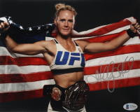 Holly Holm Signed 8x10 Photo (Beckett COA) at PristineAuction.com