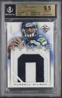 Russell Wilson 2012 Limited Rookie Jumbo Jerseys Prime RC #25 RC #49/49 (BGS 9.5) at PristineAuction.com