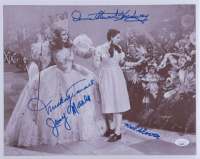 """""""The Wizard of Oz"""" 11x14 Photo Signed by (4) with Mickey Carroll, Donna Stewart Hardway, Karl Slover, & Jerry Maren (JSA COA) at PristineAuction.com"""