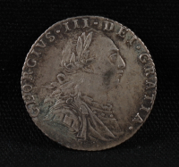 1787 Great Britain King George III 6 Pence Silver Coin at PristineAuction.com