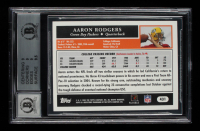 Aaron Rodgers Signed 2005 Topps #431 RC (BGS 9) at PristineAuction.com