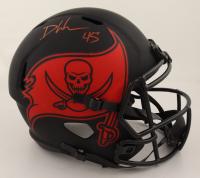 Devin White Signed Buccaneers Full-Size Eclipse Alternate Speed Helmet (Beckett COA & Denver Autographs COA) at PristineAuction.com