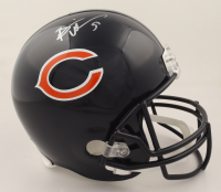 Brian Urlacher Signed Bears Full-Size Helmet (JSA COA & Denver Autographs COA) at PristineAuction.com