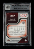 Stephen Curry Signed 2009-10 Upper Deck Draft Edition #34 (BGS Encapsulated) at PristineAuction.com