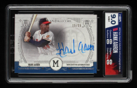 Hank Aaron 2015 Topps Museum Collection Archival Autographs #AAHA #15/15 (HGA 9) at PristineAuction.com