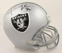 Khalil Mack Signed Raiders Full-Size Helmet (JSA COA & Denver Autographs COA) at PristineAuction.com