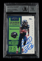 Richard Sherman Signed 2012 Panini Contenders #86A RC (BGS Encapsulated) at PristineAuction.com