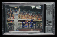 Corey Seager Signed 2016 Topps Chrome Perspectives #PC18 (BGS Encapsulated) at PristineAuction.com