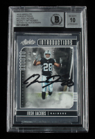 Josh Jacobs Signed 2019 Absolute Introductions #12 (BGS Encapsulated) at PristineAuction.com