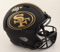 Nick Bosa Signed 49ers Full-Size Eclipse Alternate Speed Helmet (Beckett Hologram & Denver Autographs COA) (See Description) at PristineAuction.com