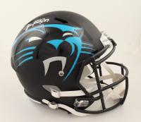 Luke Kuechly Signed Panthers Full-Size AMP Alternate Speed Helmet (Beckett COA & Denver Autographs COA) at PristineAuction.com