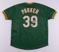 "Dave Parker Signed Jersey Inscribed ""89 WSC"" (PSA COA) at PristineAuction.com"