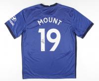 Mason Mount Signed Chelsea Jersey (Beckett COA) (See Description) at PristineAuction.com