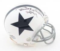 "Randy White Signed Cowboys Throwback Mini Helmet Inscribed ""HOF 94"" (Schwartz COA) at PristineAuction.com"