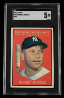 Mickey Mantle 1961 Topps #475 MVP (SGC 5) at PristineAuction.com