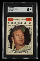 Mickey Mantle 1961 Topps #578 AS (SGC Authentic) at PristineAuction.com