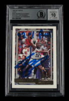 """Shaquille O'Neal Signed 1992-93 Topps Gold #362 Inscribed """"91 #1 Pick"""" (BGS Encapsulated) at PristineAuction.com"""