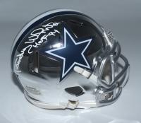 "Randy White Signed Cowboys Chrome Speed Mini Helmet Inscribed ""HOF 94"" (Schwartz COA) at PristineAuction.com"
