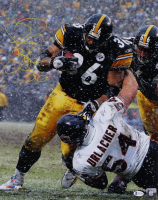 Jerome Bettis Signed Steelers 16x20 Photo (Beckett COA) at PristineAuction.com