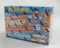 2021 Panini Prestige Football Mega Box With (4) Packs at PristineAuction.com
