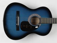 """Ronnie Milsap Signed 38"""" Acoustic Guitar (JSA COA) (See Description) at PristineAuction.com"""