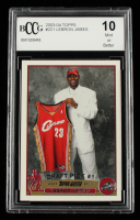 LeBron James 2003-04 Topps #221 RC (BCCG 10) at PristineAuction.com