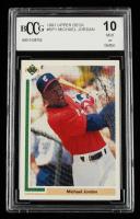 Michael Jordan 1991 Upper Deck #SP1 SP / Shown batting in / White Sox uniform (BCCG 10) at PristineAuction.com