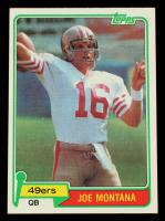 Joe Montana 1981 Topps #216 RC at PristineAuction.com